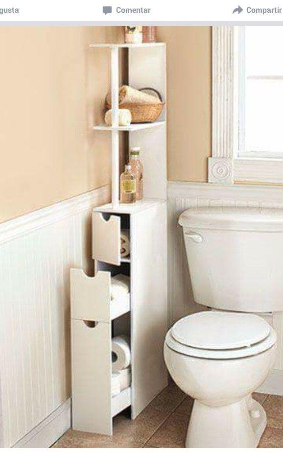 Diy Storage Unit E Saving Corner Toilet Design