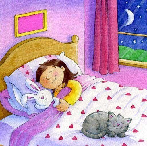 Первым, открытка спящая девушка