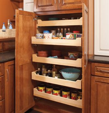 Merillat Masterpiece Tall Pantry Cabinet Kitchen In 2019