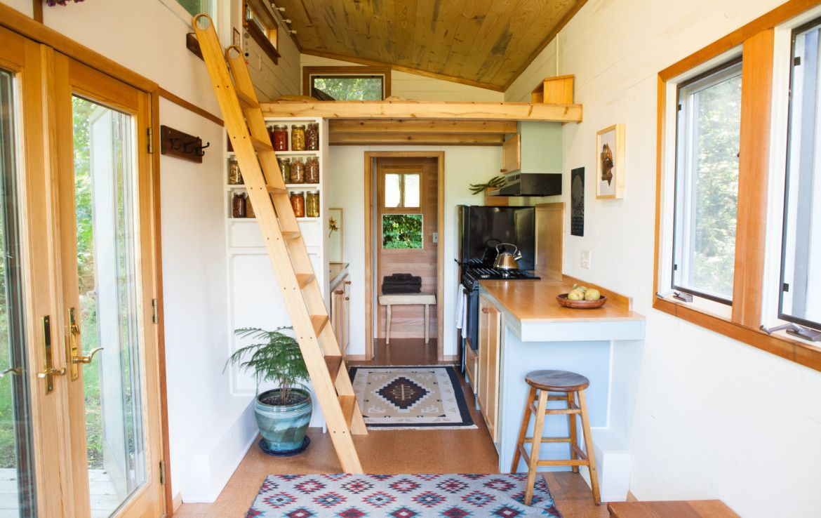 Incredible Eco Friendly 260sf Tiny House For Sale In Portland