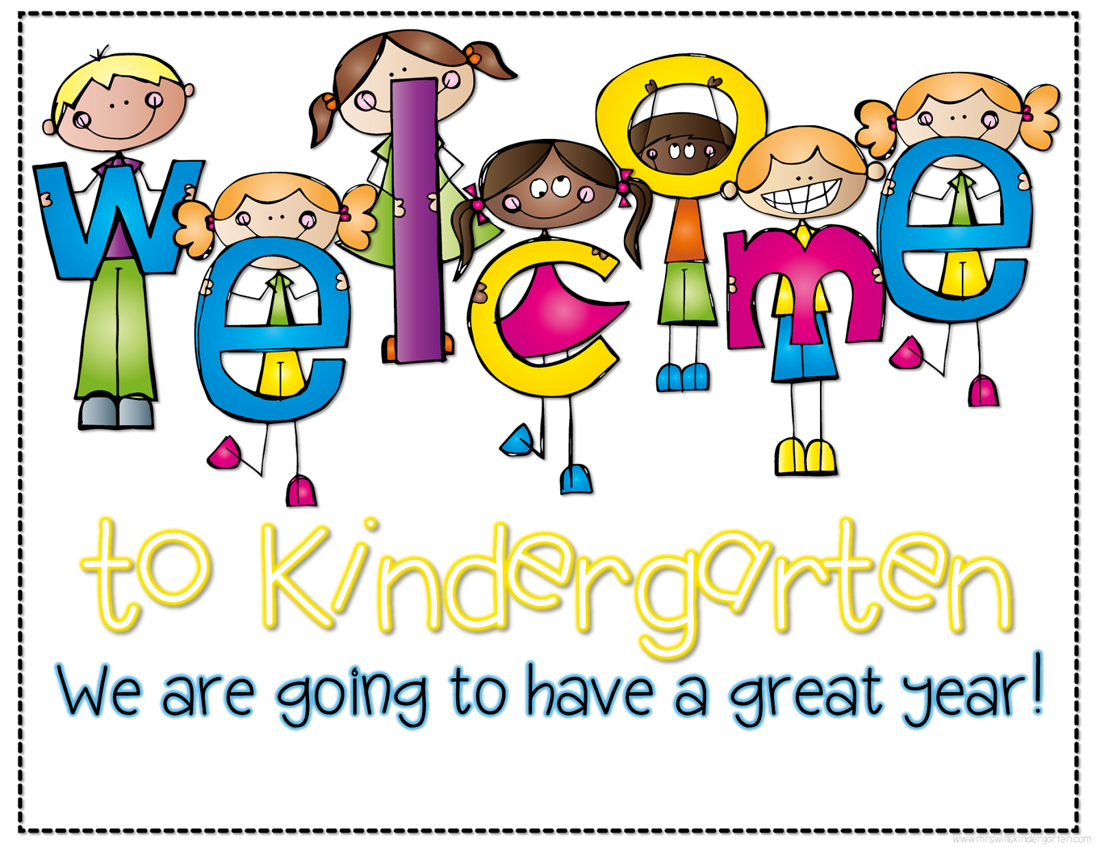 Welcome students free file! | Welcome students, Welcome to kindergarten,  Welcome to school