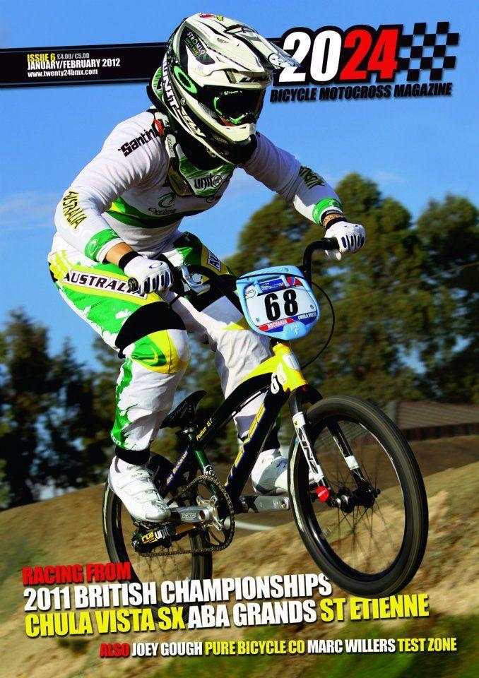 20 24 Magazine Twenty Twenty Four Magazine Front Cover Bmx