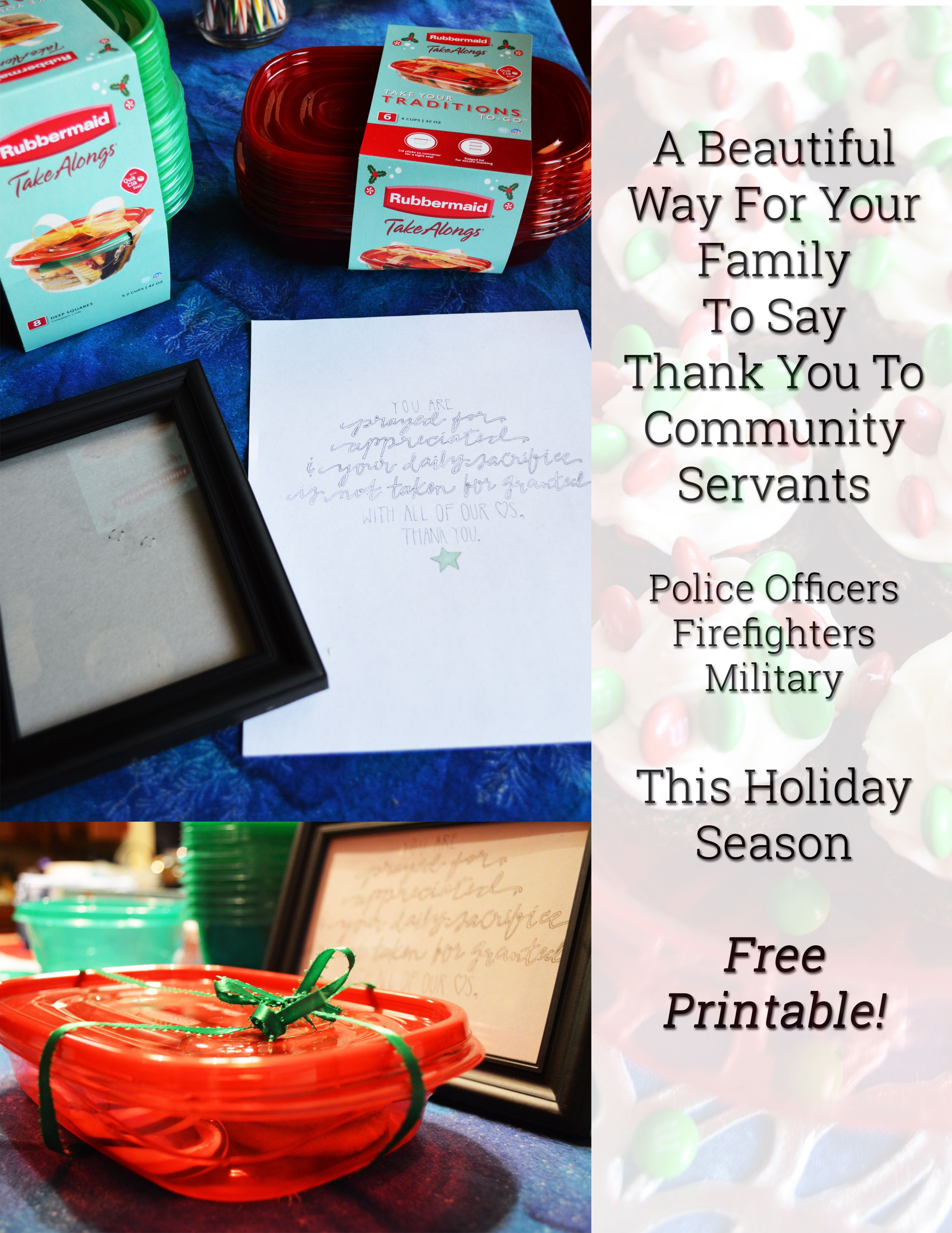 How To Say Thank You To Police Officers This Holiday ...