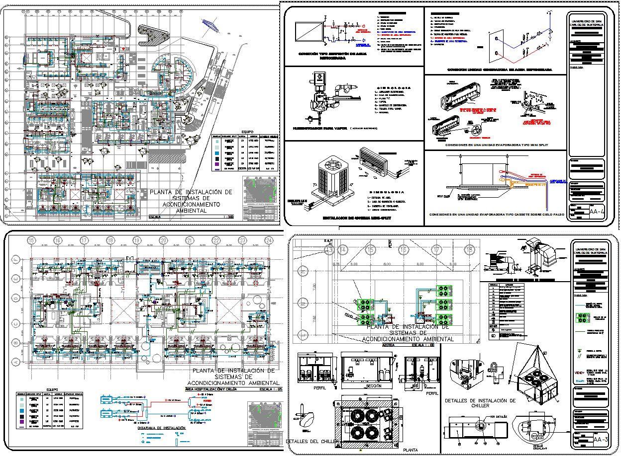 Instalación de aire acondicionado hospital, en Aire