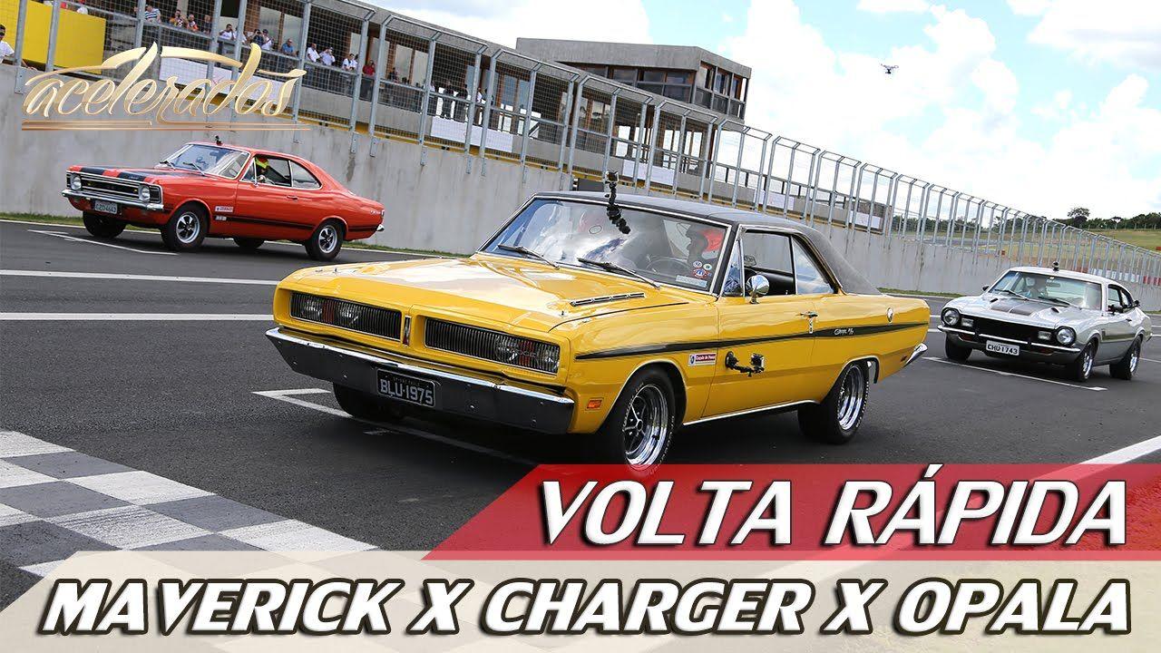Maverick Gt X Charger R T X Opala Ss Volta Rapida 38 Com Rubens