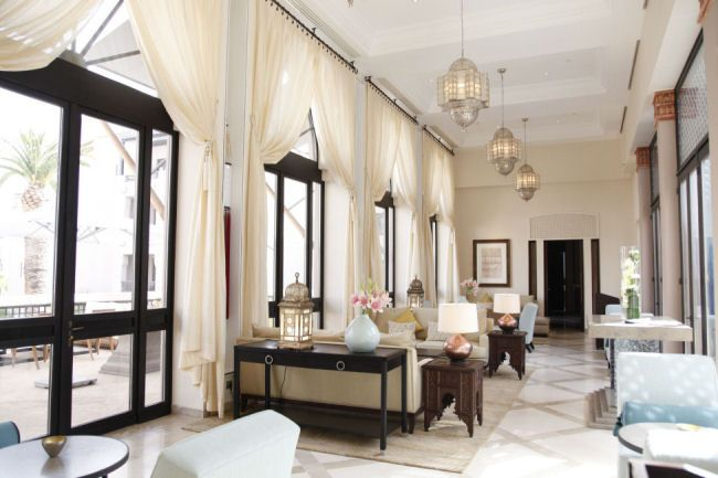 modern and moroccan style