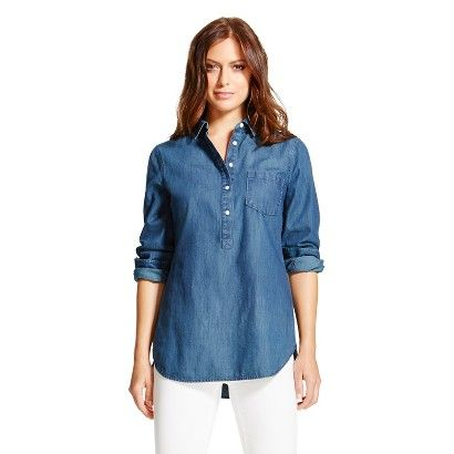 6092d7c6e0 Women s Denim Favorite Tunic - Merona™ 24.99