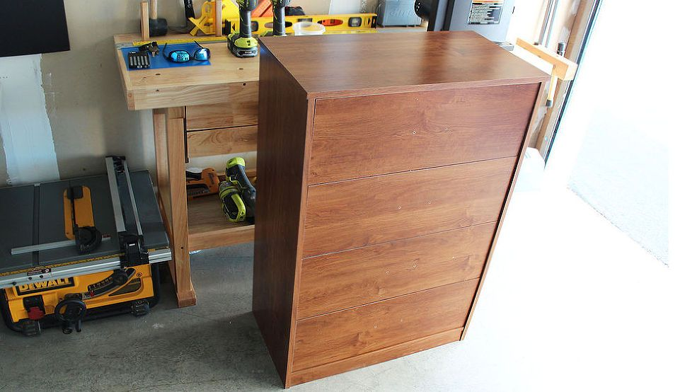 How To Makeover Cheap Particle Board Furniture Really