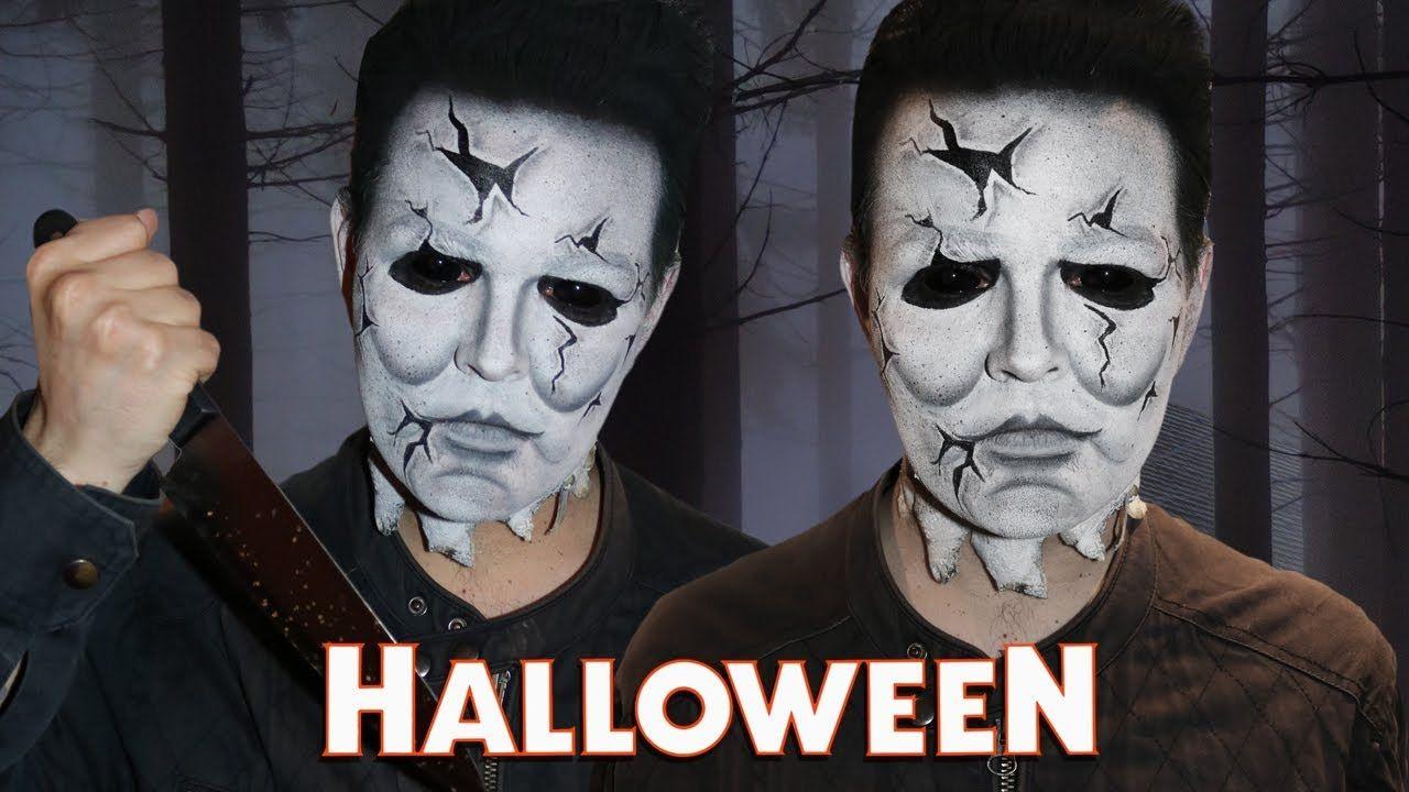 Halloween! Michael Myers Makeup Tutorial! YouTube
