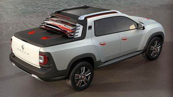 Sao Paulo 2014 : Renault Duster Oroch Concept