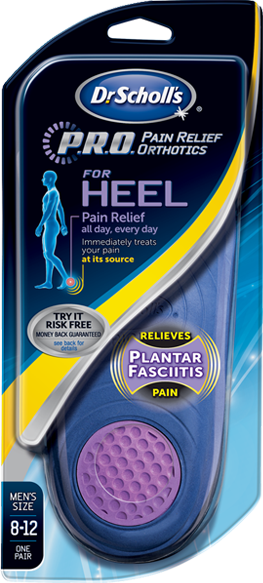 c2a66fed84 P.R.O. Heel Pain Relief Orthotics/Treatment | Dr. Scholl's® | Things ...