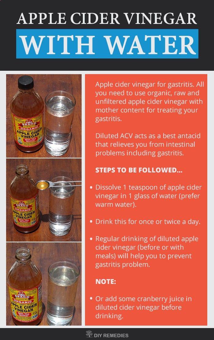 giardia apple cider vinegar
