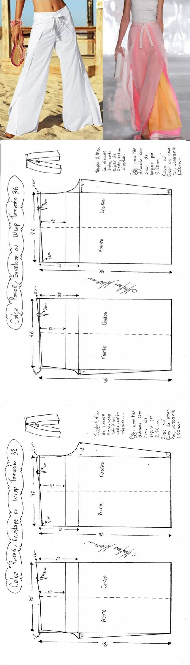 ♥ Moldes ♥ | costura | Pinterest | Costura, Pantalones and Moldes