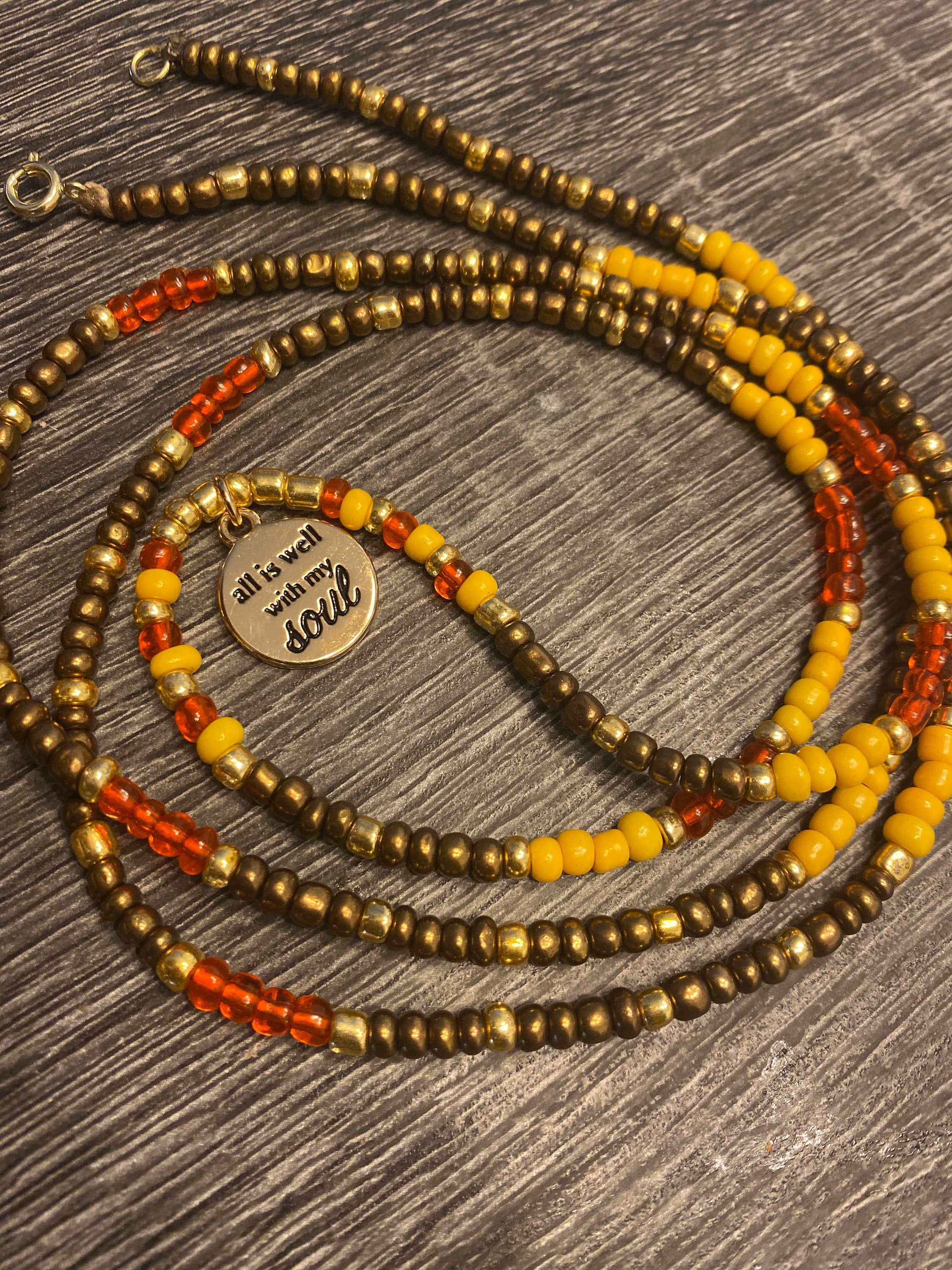 Natures Very Own Waist Beads In 2020  Beads, Body Adornment, Waist