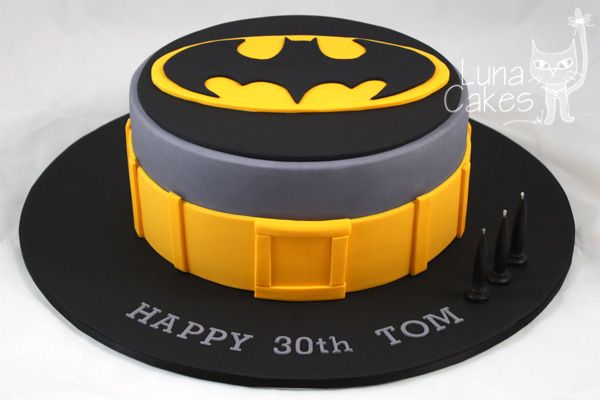 Batman Would Be Cute For Jacobs Birthday Cake Decorating Ideas