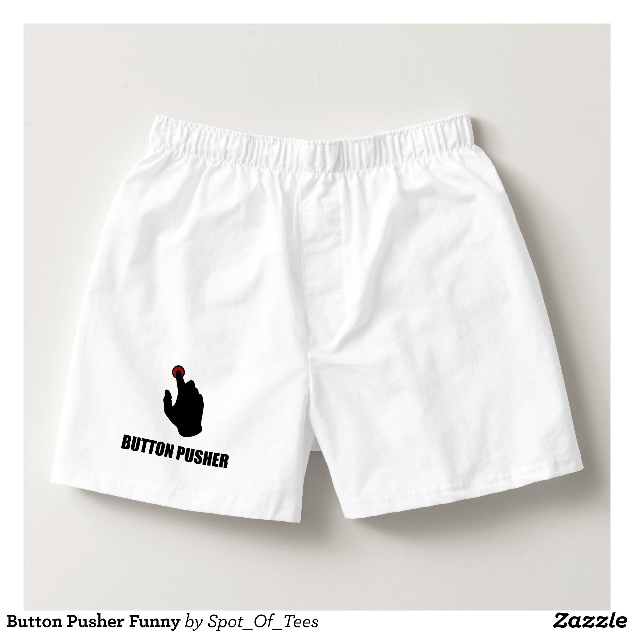 ALM786t-Mens Funny Boxer Short Underwear-Dont Need Permit GUN-novelty Gifts