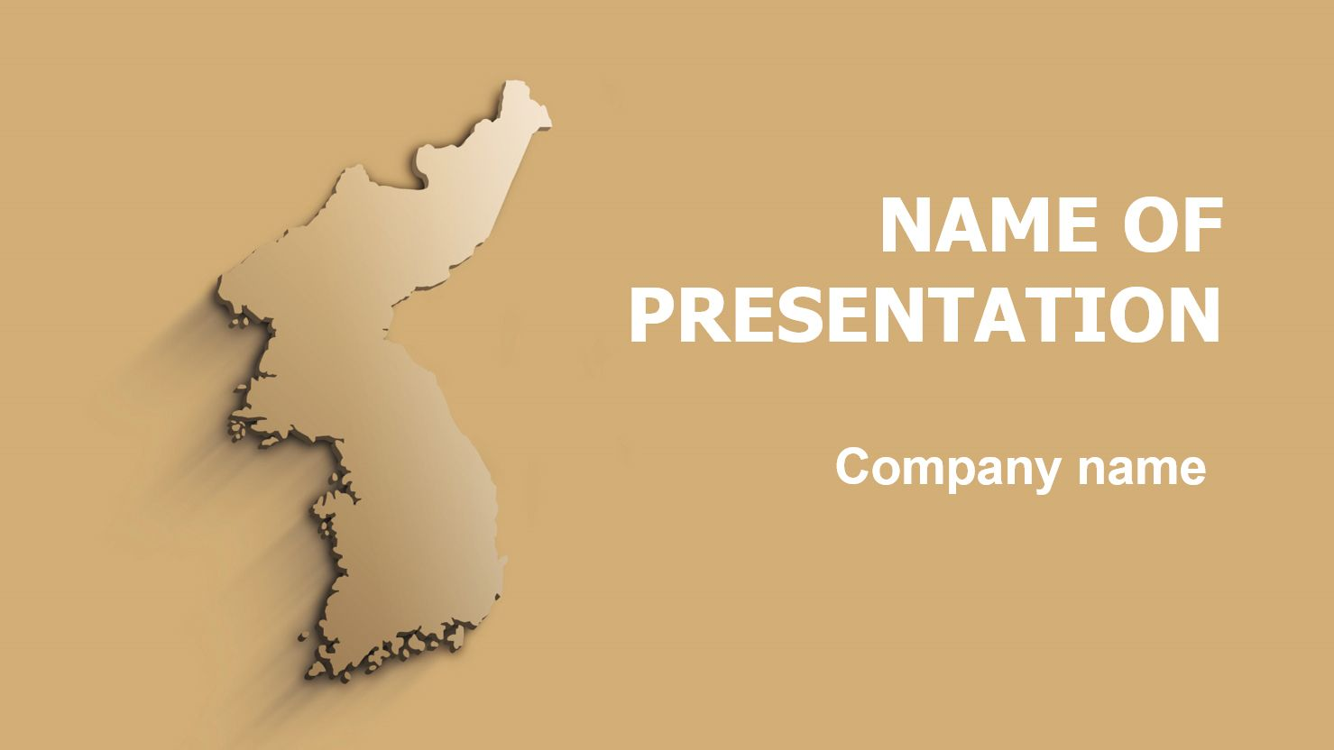 korea beauty powerpoint theme  this beautiful and creative powerpoint theme will be a great