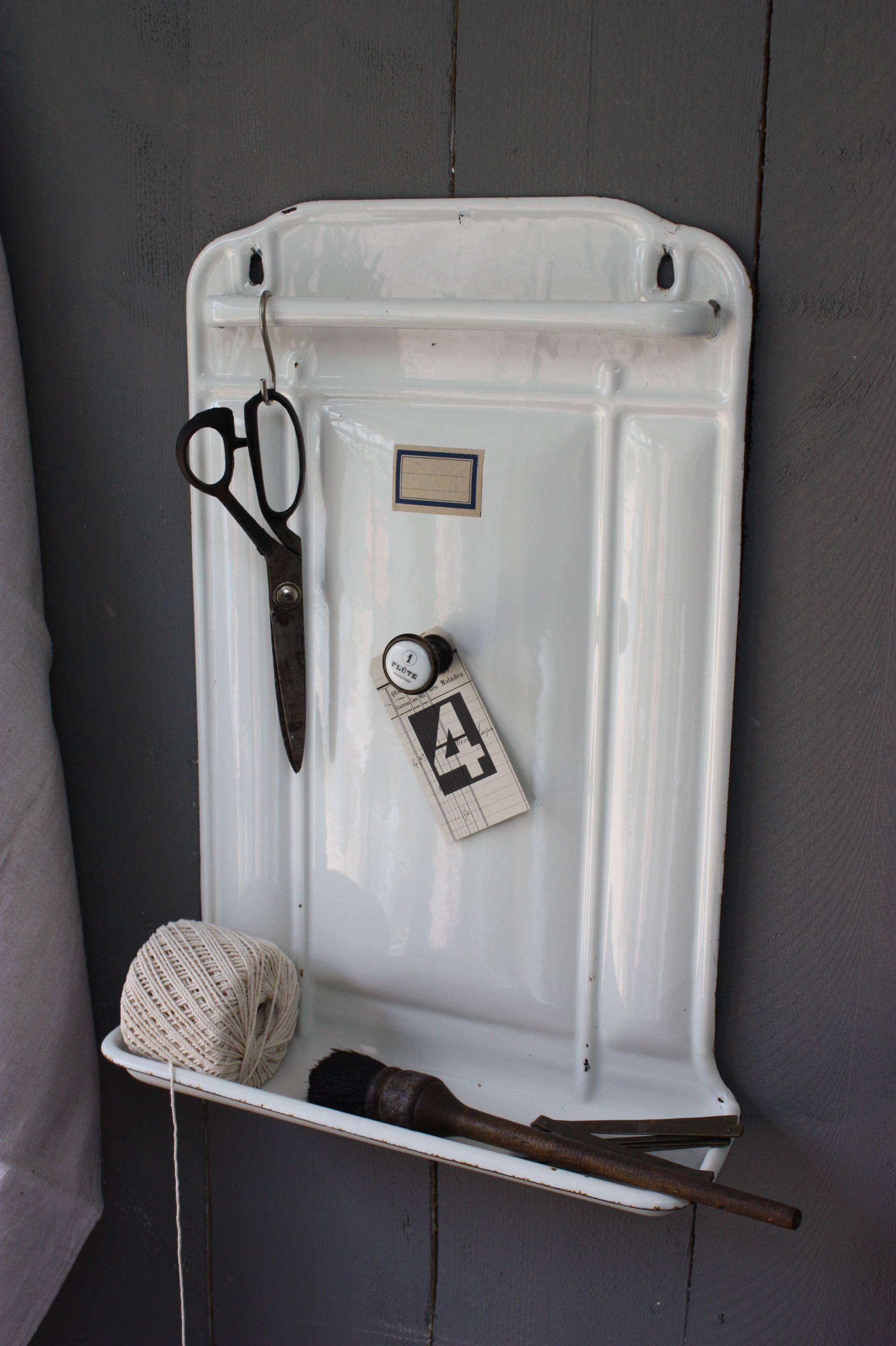 Enamelware Bathroom Accessories Holder
