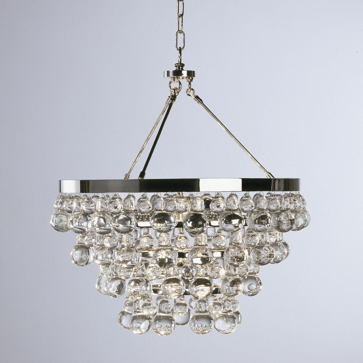 Deco Glam Chandelier Go bold with glamour! With Art Deco elegance this collection features & Deco Glam Convertible Chandelier | Chandeliers Polished nickel and ...
