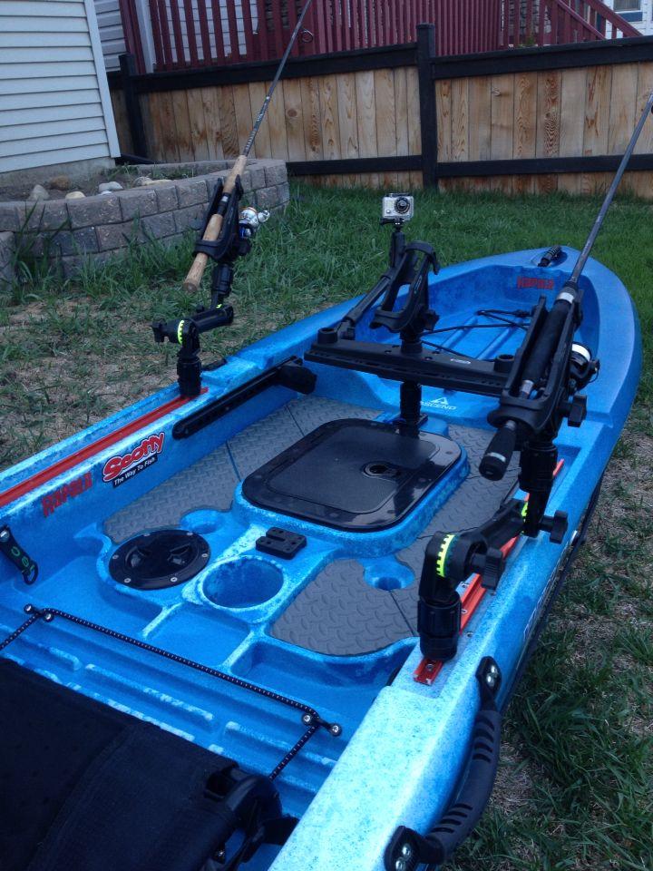 Ascend Fs12t Fishing Kayak Accessories Itb2cstore