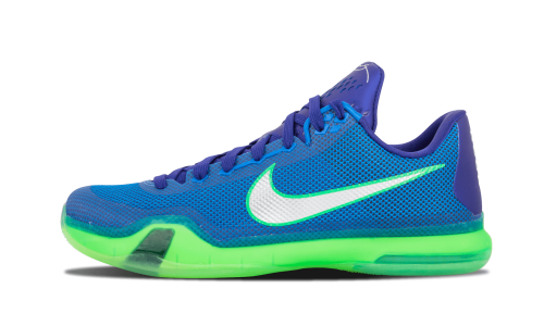 3da371d6037d Nike Kobe X Low Emerald City Soar Deep Royal Blue Green Shock 705317-402 13  US