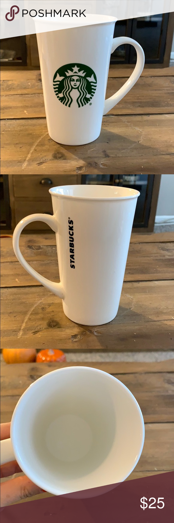 BOGO 18 oz. Starbucks Mug 18 oz Starbucks mug  Microwave and dishwasher safe Starbucks Kitchen Coffee & Tea Accessories #myposhpicks