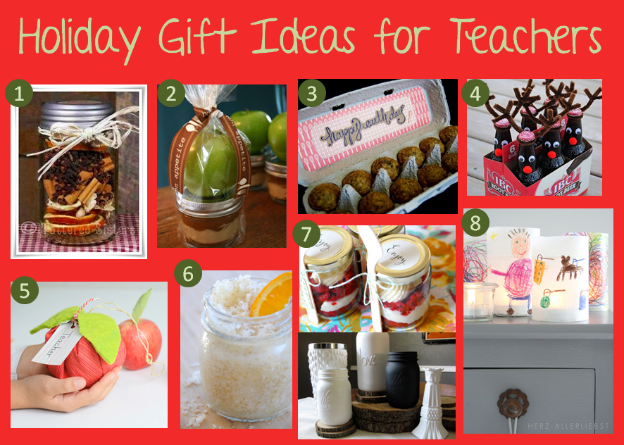 Christmas Craft Present Ideas Part - 18: Homemade Holiday Gift Ideas For Teachers