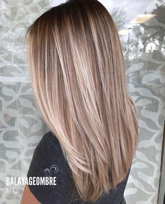 Instagram Mèches Balayage straight hair, Balayage hair
