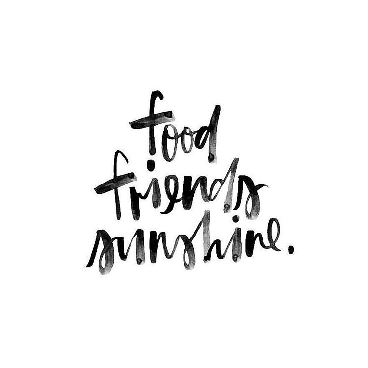 Emo Quotes About Suicide: Food. Friends. Sunshine