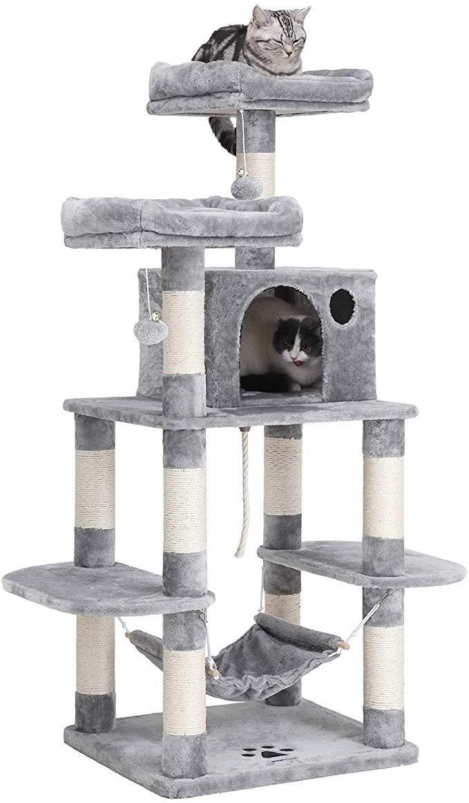 FEANDREA MultiLevel Cat Tree for Big Cats