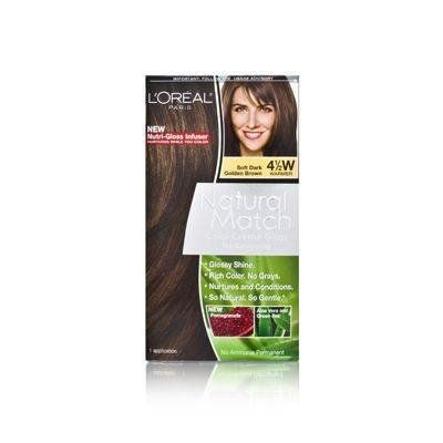 L Oreal Natural Match Color Creme Gloss 4 1 2w Soft Dark Golden Brown By L Oreal Paris Check Out This Great Product Loreal Hair Color Loreal Paris