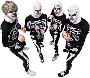 Karate Kid Halloween Costume.Cobra Kai Skeleton Costumes Would Be Good For Gabe He Has