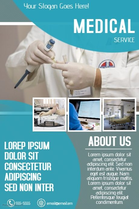free customizable medical doctor flyer template. Black Bedroom Furniture Sets. Home Design Ideas