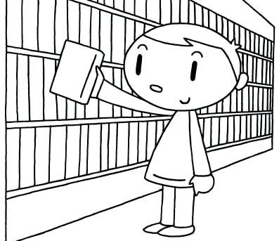 Biblioteca Para Colorear Click En E O Scargar Imagenes Exercises