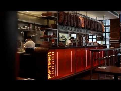 Fifteen, le restaurant de Jamie Oliver qui forme des chômeurs #jobless #charity #london #londres #cook #cooking