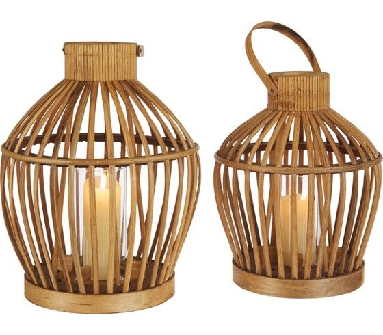 Dekorative Laterne aus Holz in Braun - für ein stimmungsvolles Ambiente