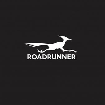 Roadrunner Silhouette Logo