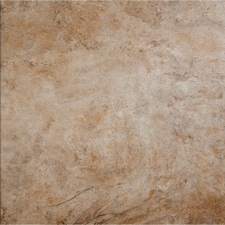 Shop style selections mesa beige glazed porcelain indoor outdoor floor tile common 18 in x 18 - Lowes floor tiles porcelain ...