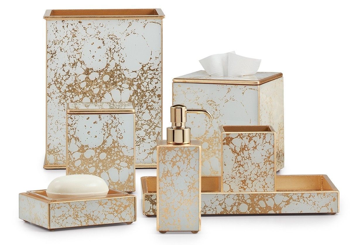 Amari Gold Gold Bathroom Decor Gold Bathroom Accessories Home Interior Accessories