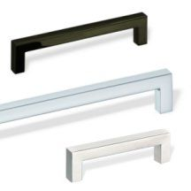 Solid American Style Aluminum Cabinet Handle Cabinet Handles