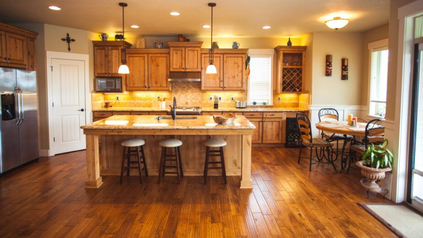 34 kitchens with dark wood floors pictures cheap