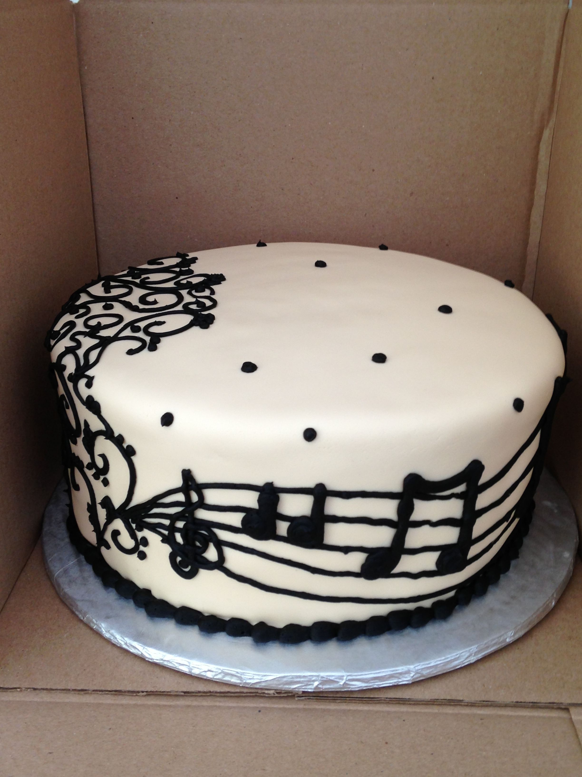 Music Themed Cake Music Pinterest Music Themed Cakes Cake And