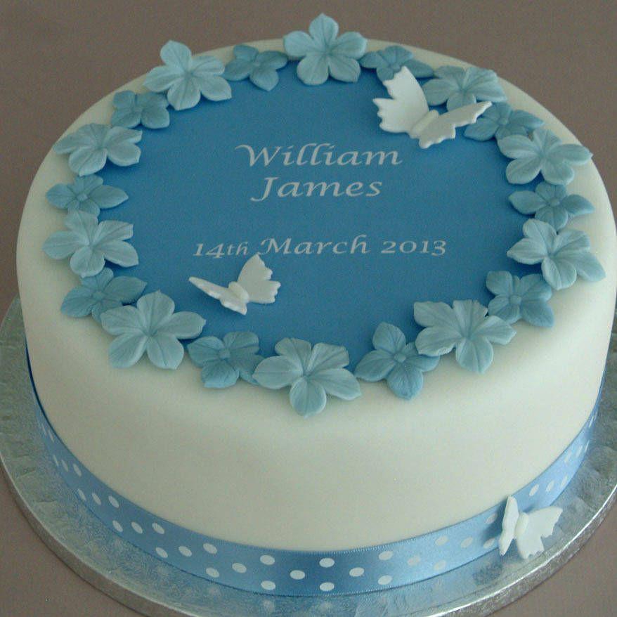 Cake decorating christening cakes