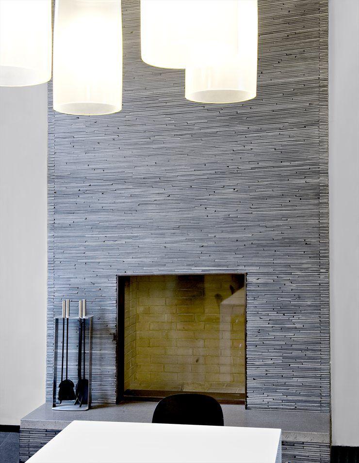 Casa Pianegonda, Vicenza, 2009 #architecture #design #fireplace