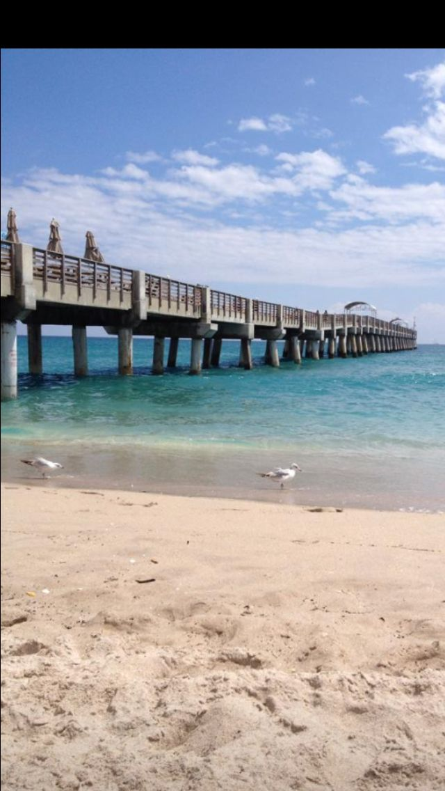 The Pier At Lake Worth Fl Beach Outdoor