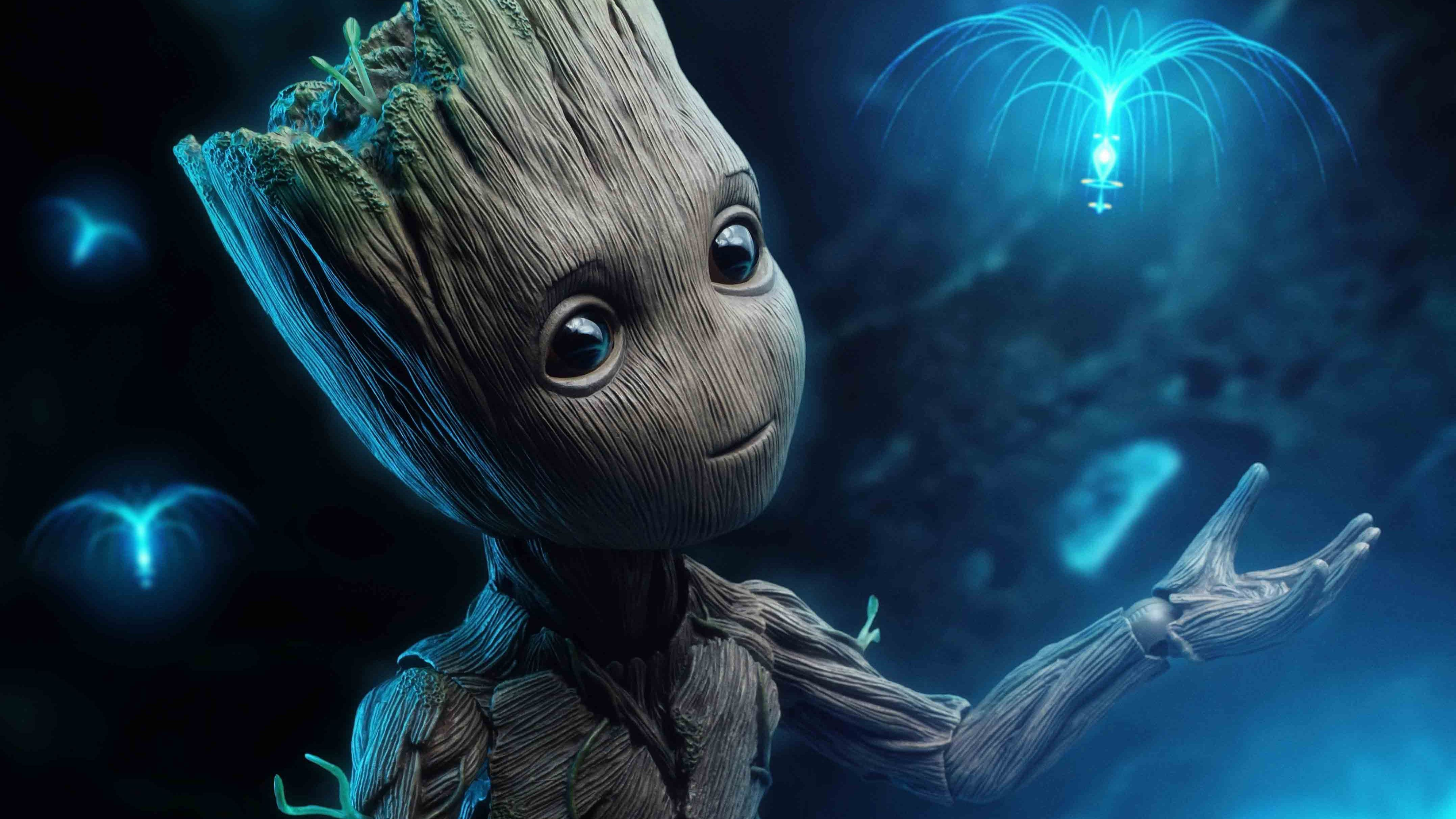 Awesome anime wallpaper for desktop, table, and mobile. baby groot #4k #hd #superheroes #4K #wallpaper # ...