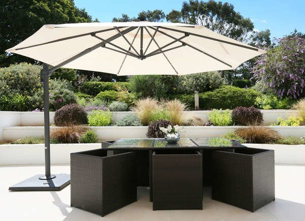 10 Smart Ways To Bring Shade To Your Outdoor Space In 2020 Patio Shade Patio Umbrella Stand Large Patio Umbrellas