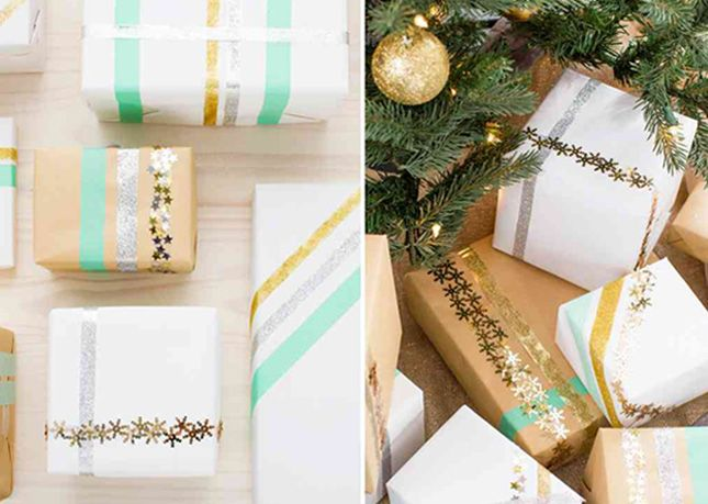 Christmas Gift Wrapping Party: Check gift wrapping off your list while getting in some good hang time with friends. Invite everyone to bring their gifts and a few contributions to the supply table and then set up a gift wrapping station with paper, bows and ribbons.