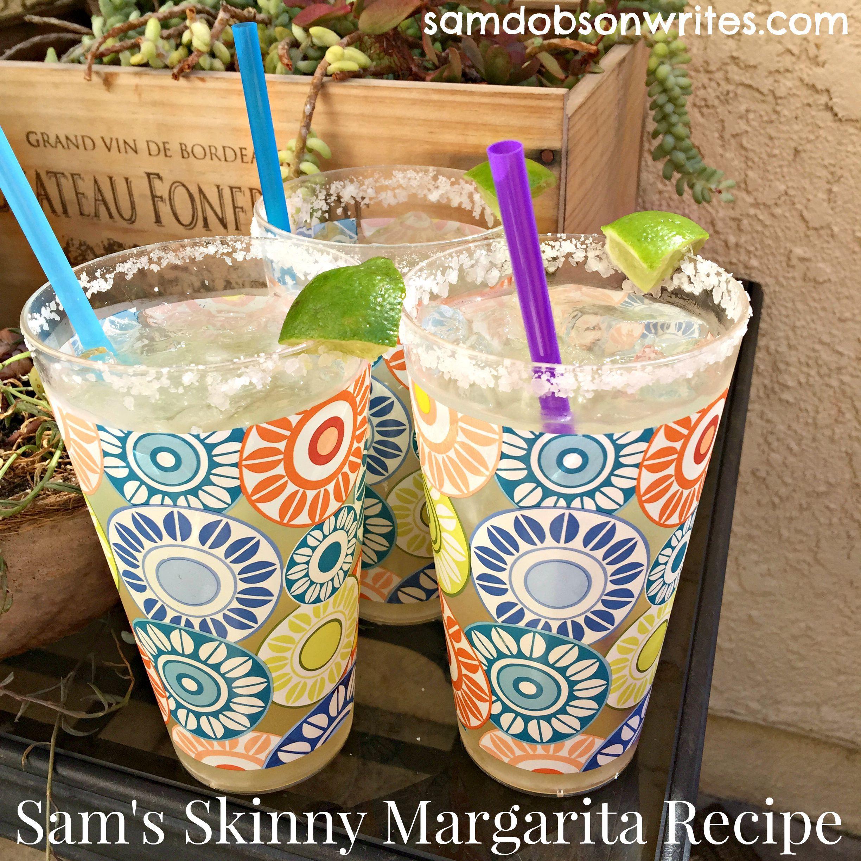 My Perfect Skinny Margarita Recipe