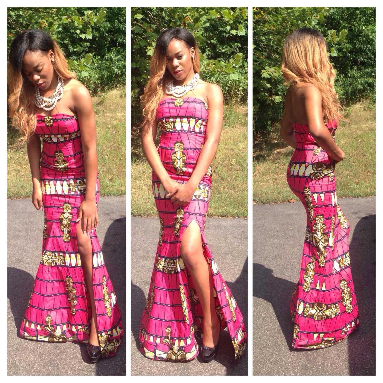 Traditional/ Congolese / Wedding / Dress ACHK By Achk